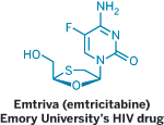 Structure of Emtriva