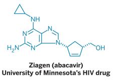 Structure of Ziagen