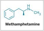 Structure of Methamphetamine