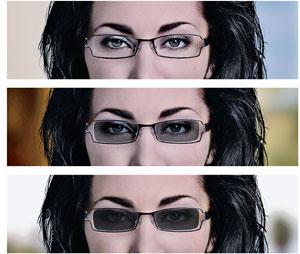 transition lenses  Self-Darkening Eyeglasses