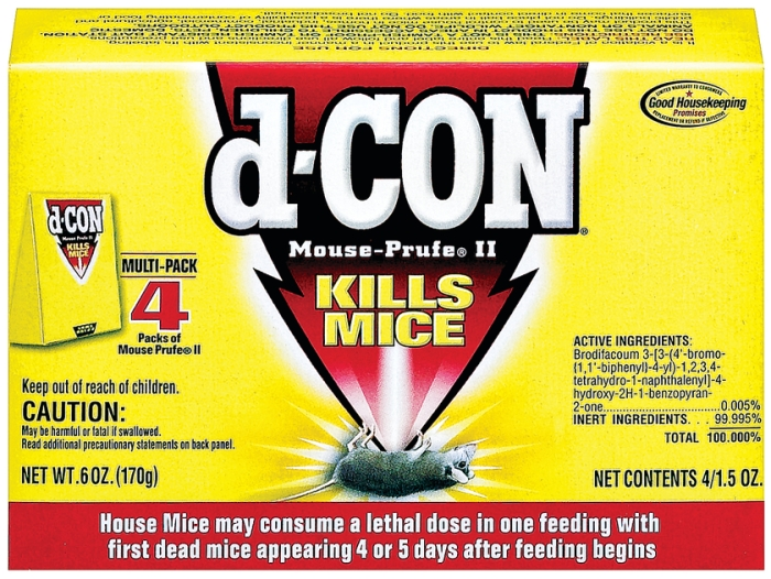 Maker Of Rat Poison d-CON To Pull Products | June 9, 2014 Issue