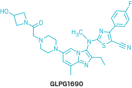 Structure of GLPG1690.