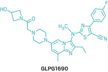 Structure of GLPG1690.