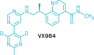 Structure of VX984.