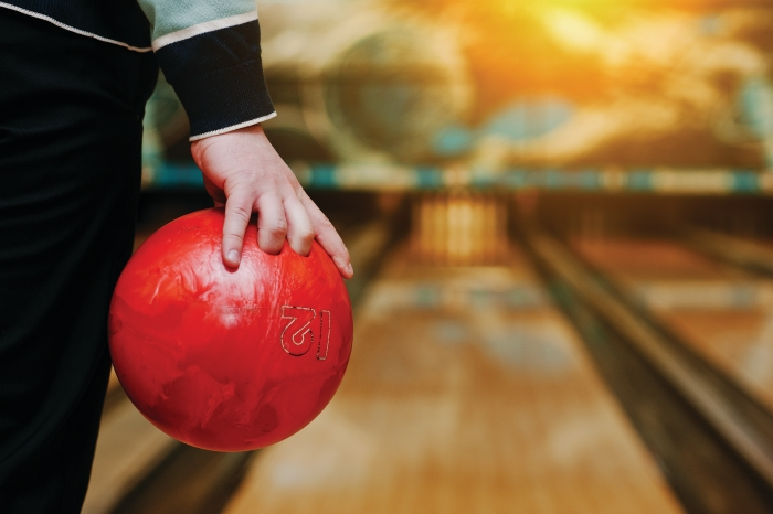 What's in a bowling ball, and how does its chemistry help