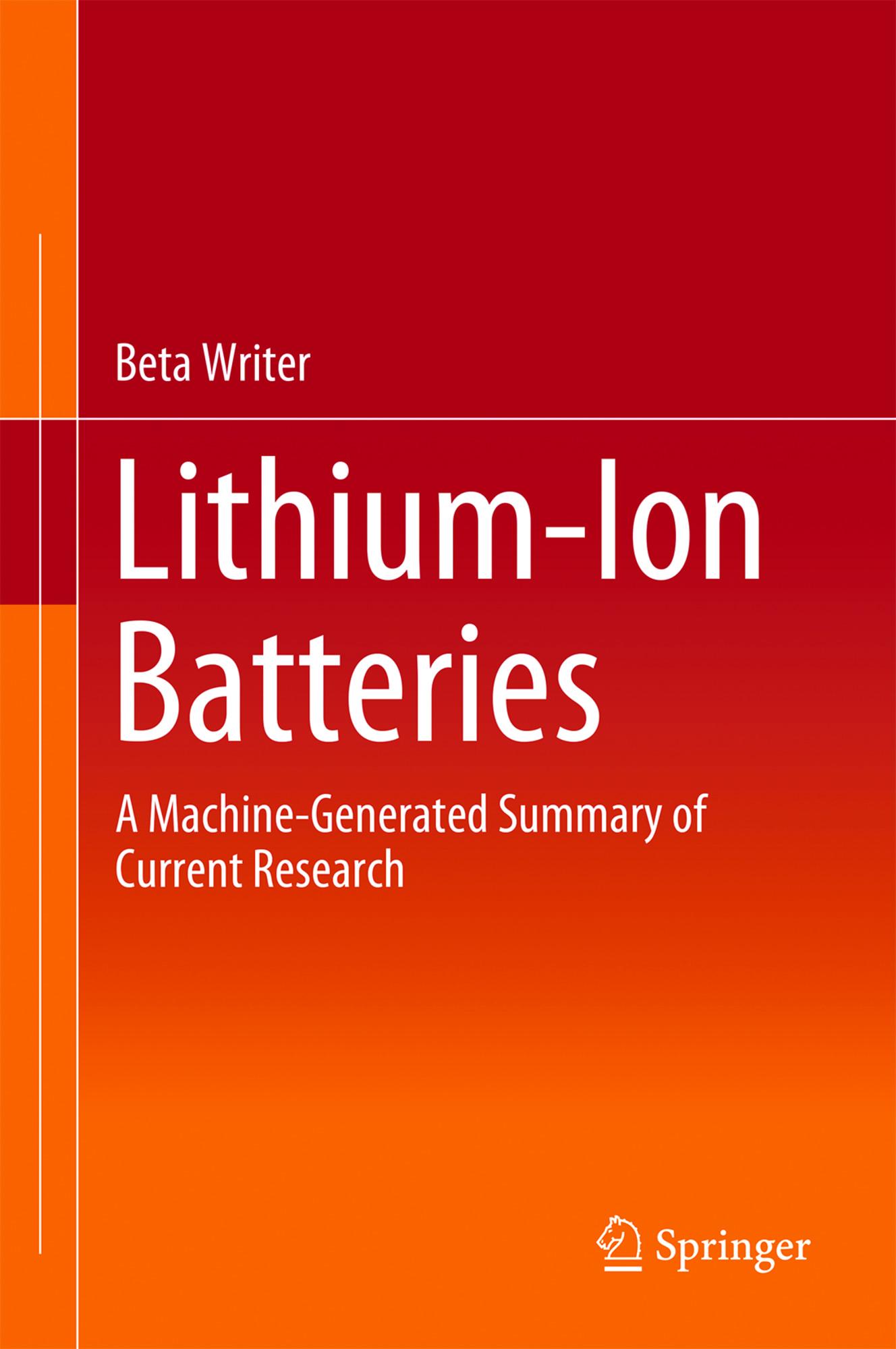 Machine writes chemistry book