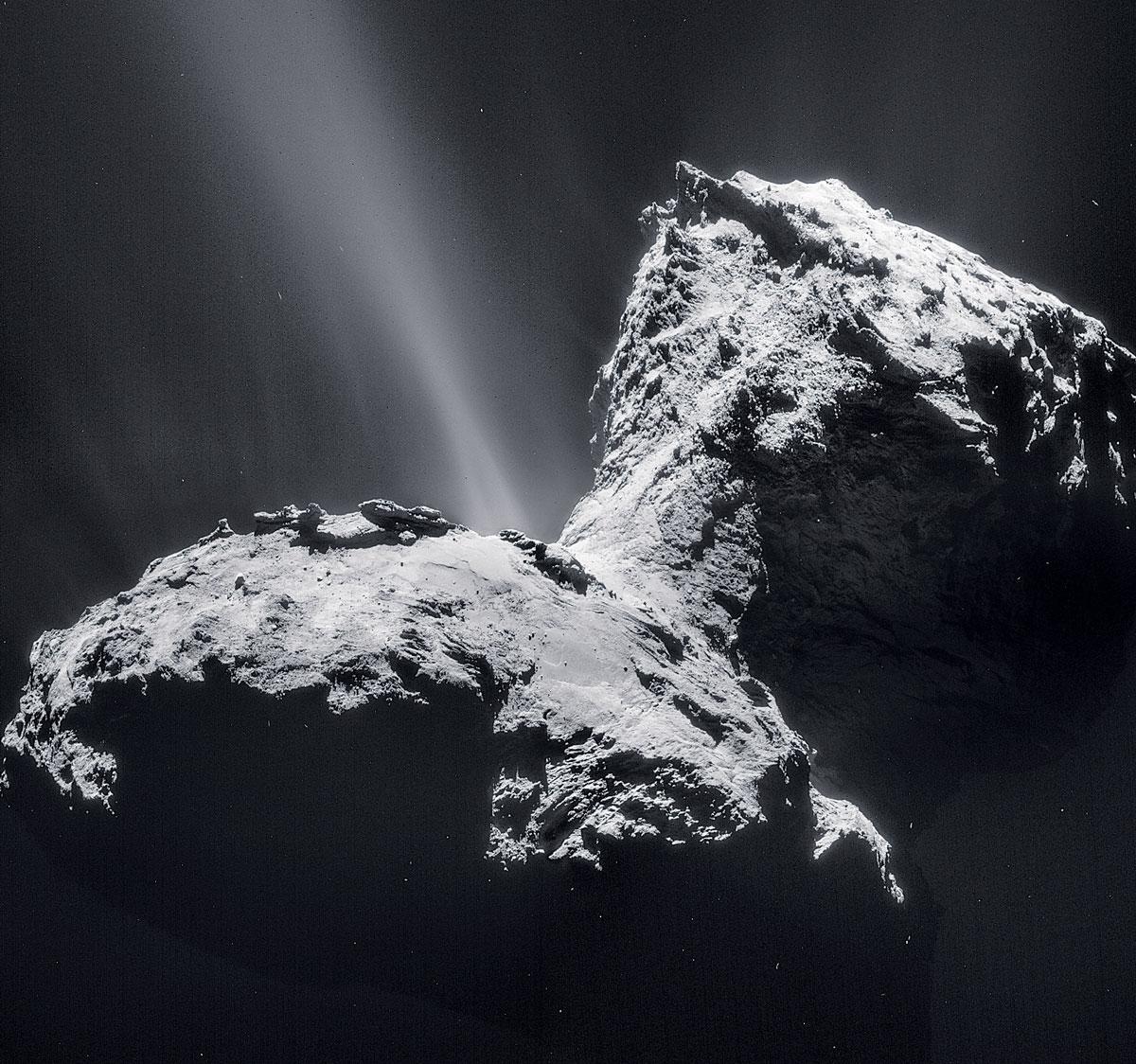 Finding comets' hidden nitrogen